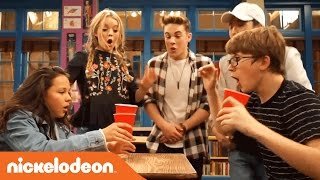 The School of Rock Cast vs. the Cup Blowing Challenge | Nick