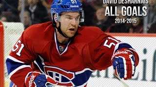 David Desharnais All Goals from the 2014-2015 NHL season and playoffs