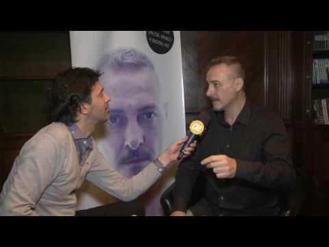 Pedro Aznar video Entrevista CM - Presentación Contraluz 2016