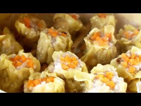 How To Make Siomai | Dim Sum HongKong | Chinese Pork and Prawn Dumplings 燒賣