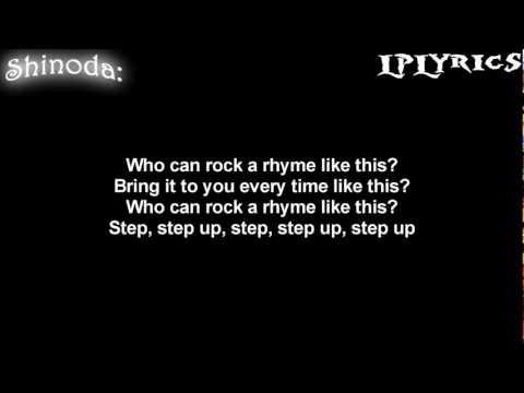 Linkin Park - Step Up [Lyrics on screen] HD