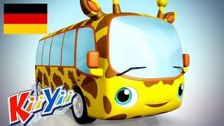 Die Räder vom Bus 2 | +mehr Kinderlieder | KiiYii Deutsch | Deutsch Lernen | Lieder Für Kinder