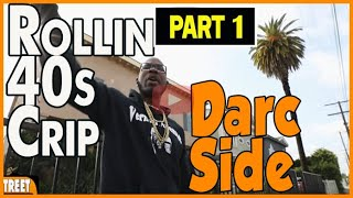 Rollin 40s Neighborhood Crip on growing up on the Darkside section of community (pt1)