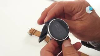 Acer Leap Ware smartwatch Mediatek MT2523 and Acer Liquid Life app