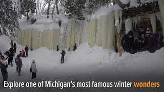 Explore Eben Ice Caves In Michigans Upper Peninsula