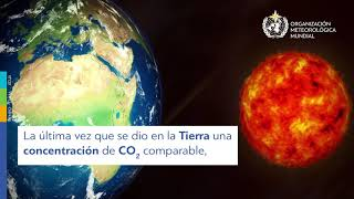 Greenhouse gas concentrations Animation