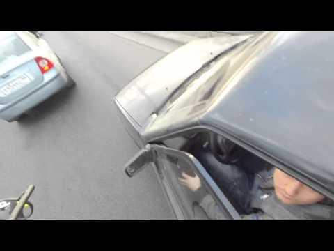 Несознательный автомобилист