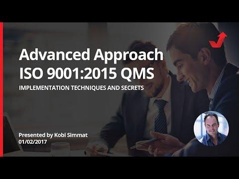 Una forma avanzada para implementar sus sistemas de gestión de calidad ISO 9001:2015