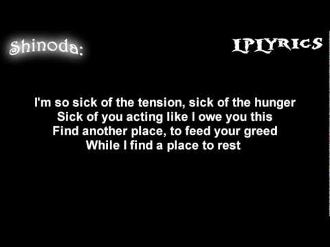 Linkin Park- A Place For My Head [Lyrics on screen] HD