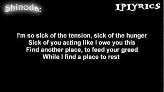 Linkin Park- A Place For My Head [Lyrics on screen] High Quality Mp3