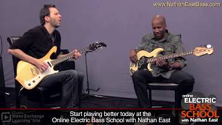 "Nathan East & Paul Gilbert: ""One Chord Challenge"" at ArtistWorks"