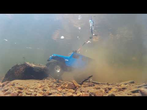 Insane,rc Truck Driving Under Deep Water.