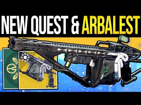 Destiny 2 | ARBALEST FOUND & NEW EVENT QUESTS! Exotic Bounties, New Currency, Loot & Bungie Responds