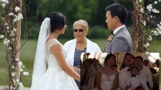 Albert & Julie Wedding Highlight - Same Day Edit Reaction