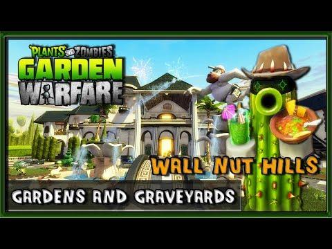 Steam Community Video Plants Vs Zombies Garden Warfare Pc Gameplay Wall Nut Hills Gardens And Graveyards