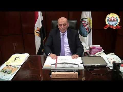 الأستاذ الدكتور /هاني يوسف  - نائب رئيس جامعة مدينة السادات لشئون التعليم والطلاب للتعريف بالإحتفالية الأولى بعيد الجامعة الخامس