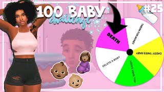 SIMS 4 100 BABY CHALLENGE with A TWIST #25 *WORST BDAY EVER!!*