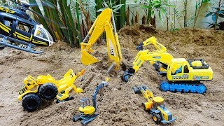 Excavator Rescue Car Toy Helps Construction Vehicles Truck Toys Play
