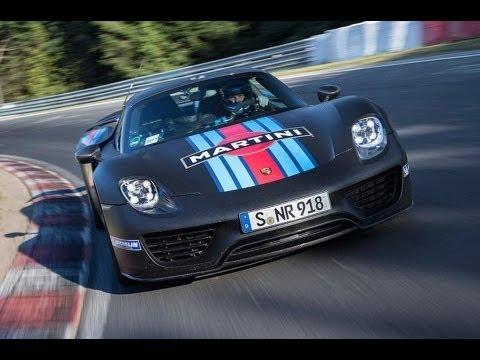 Porsche 918 Spyder - Frankfurt motor show