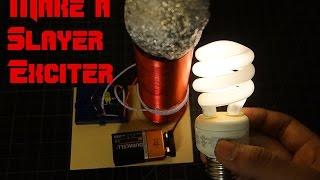 DIY Mini Tesla Coil (Slayer Exciter)