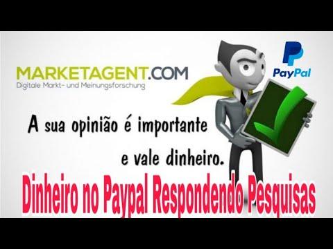 Novo Site Para Ganhar Dinheiro no Paypal Respondendo Pesquisas