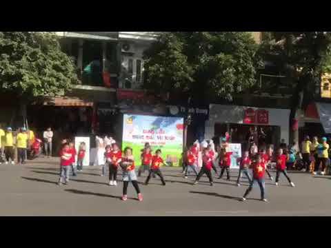 Nhảy Flasmos- B2 MN Đinh Tiên Hoàng