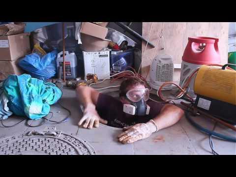 ремонт кессона часть 2