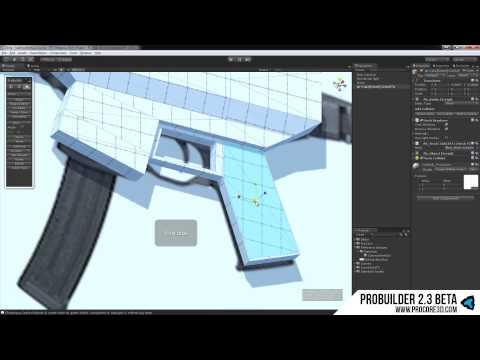 مشاهدة وتحميل فيديو Low Poly Modeling with ProBuilder 2 3