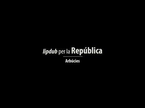 Lipdub per la República, Arbúcies
