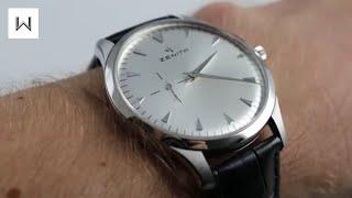Zenith Elite Ultra Thin 03.2010.681/01.C493 Luxury Watch Review