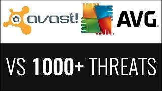 Avast vs AVG | Detection Ratio Test (2016)