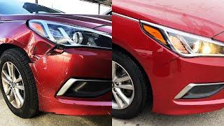 사고 데미지 입은 내 차 어떻게 고쳐질까?