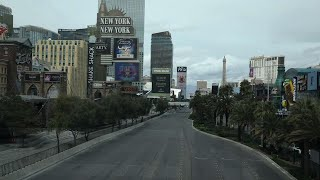 Las Vegas Strip Casinos Empty Due To Virus Concern