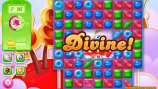 Candy Crush Jelly Saga Level 1659 (3 stars, No boosters)
