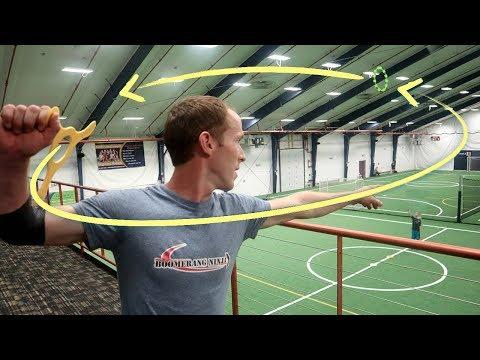 Boomerang Trick Shots   That's Amazing