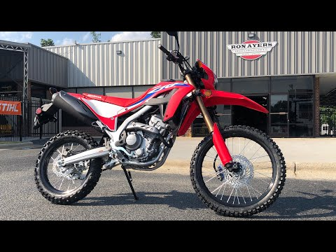 2021 Honda CRF300L in Greenville, North Carolina - Video 1
