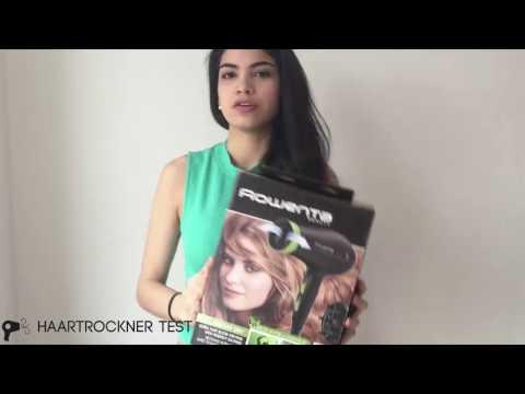 Rowenta CV6030 Eco Intelligence Haartrockner Unboxing & Praxistest
