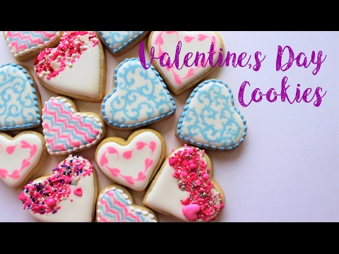 How To Decorate Easy Valentines Day Cookies