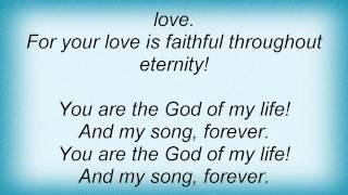 Jonah33 - God Of My Life Lyrics