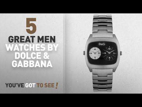 Top 10 Dolce & Gabbana Men Watches [ Winter 2018 ]: D&G Dolce & Gabbana Men's DW0138 Dual-Time Watch