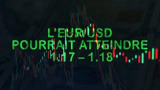 L'EUR/USD pourrait atteindre 1.17 – 1.18 d'ici la fin de l'été