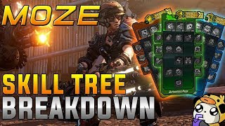 NEW BL3 NEWS! Moze FULL SKILLTREE BREAKDOWN!
