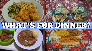 What's For Dinner? | Real Life Easy Meal Ideas