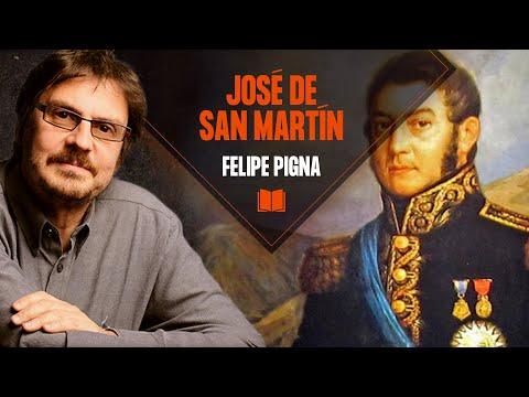 Video: La vida del General José San Martín según Felipe Pigna