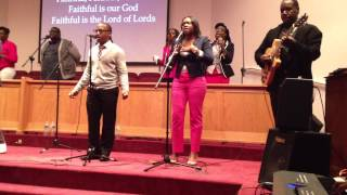 Holy is Our God - (James Fortune) Spirit of Praise Ministry