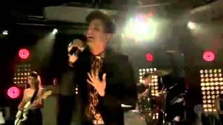 Adam Lambert Chokehold live at iHeartRadio
