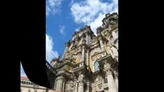 preview picture of video 'La cattedrale di Santiago de Compostela - Galizia - Spagna'