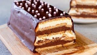 Торт из печенья без выпечки - простой в приготовлении десерт, который оценят все! | Appetitno.TV