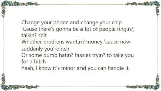 Dizzee Rascal - Hardback Industry Lyrics
