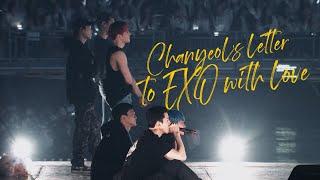 20191231 엑소 콘서트 찬열의 서프라이즈 영상편지 [Chanyeol's secret VCR to surprise EXO members at EXplOration]